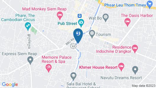 HI Siem Reap Boutique Hostel Map