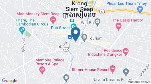 Unity Hostel Map