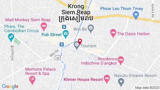 Angkor Village Hotel Map