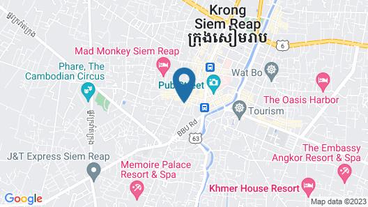 Boutique Dormitory Kochi-ke - Hostel Map