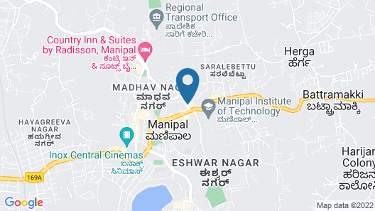 Fortune Inn Valley View - Member ITC Hotel Group Map