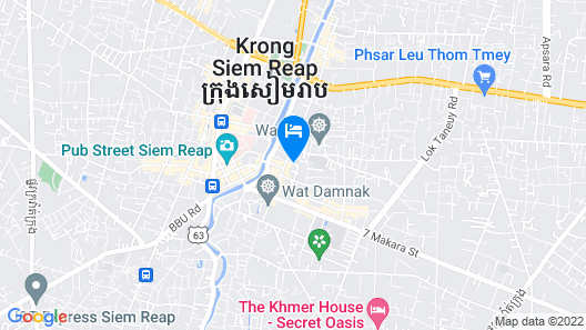 Viroth's Hotel Map