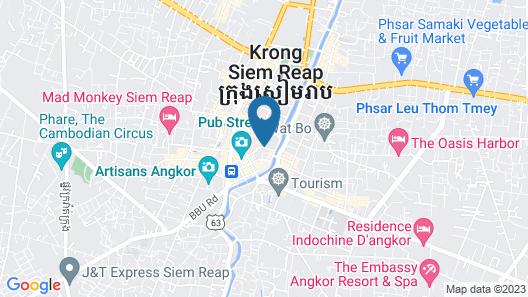 Happy Zone Hostel Map