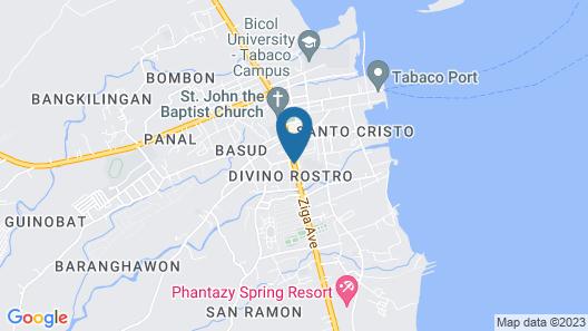 Meaco Royal Hotel - Tabaco Map