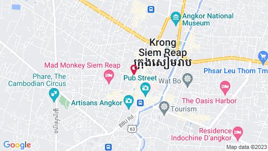 Park Hyatt Siem Reap Map