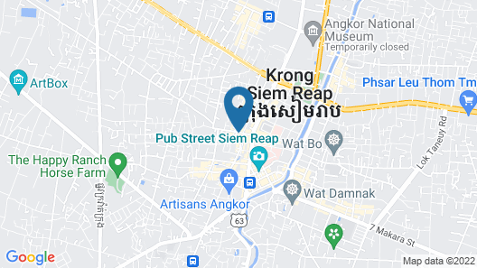 Park Hyatt Siem Reap Map