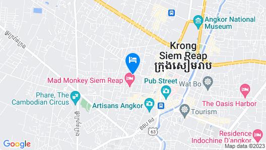 Chheng Residence Map