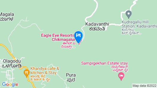 Eagle Eye Resorts Map