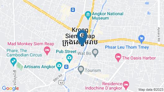 Shinta Mani Angkor Map