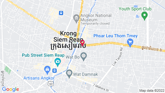Mom's Guesthouse Map