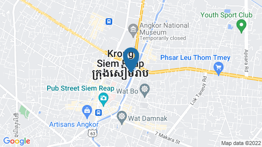 FCC Angkor by Avani Map