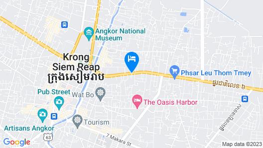 Borei Angkor Resort & Spa Map