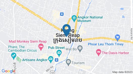 Koulen Hotel Map