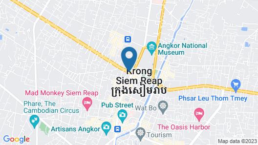 Sokha Angkor Resort Map