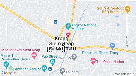 Raffles Grand Hotel d'Angkor Map