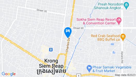 Sofitel Angkor Phokeethra Golf & Spa Resort Map