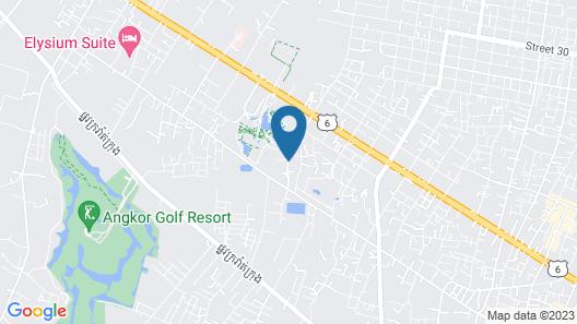 Sabara Angkor Resort & Spa Map