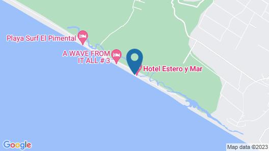 Hotel Estero y Mar Map