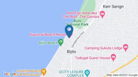 Kasumai Beach Resort Map