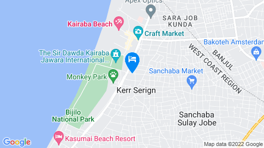 Coconut Residence Map