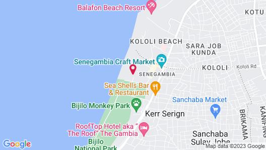 Holiday Beach Club Hotel Map
