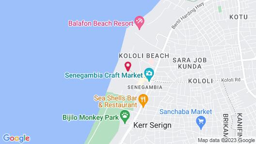 Kairaba Hotel Map