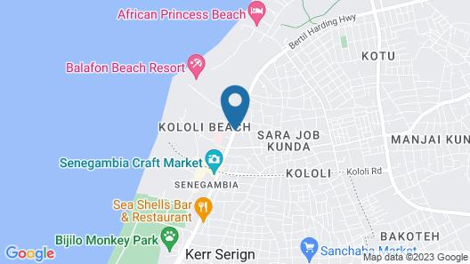 Paradise Suites Hotel Map