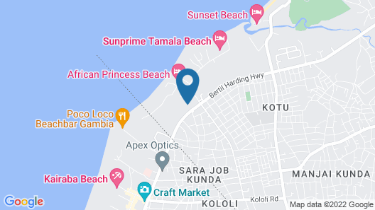 Metzy Residence Hotel Map
