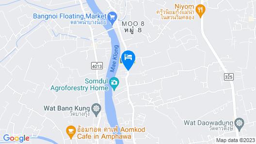 Baantip Suantong Resort Map