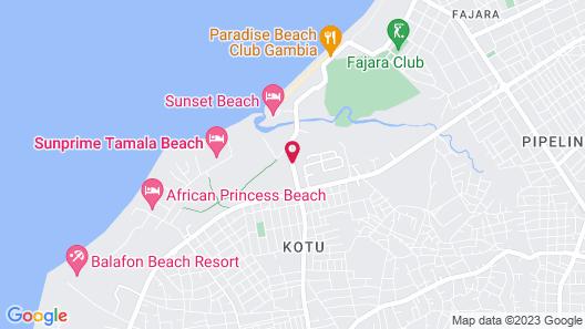 Badala Park Hotel Map