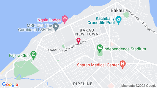 Pelican Residence Map