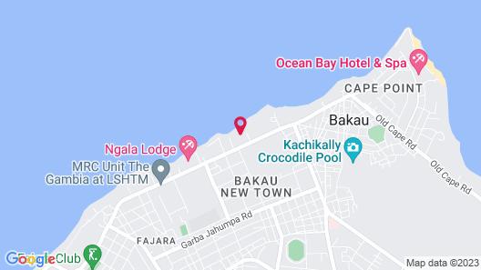 Tropic Gardens Hotel Map