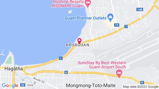 Tamuning Plaza Hotel Map