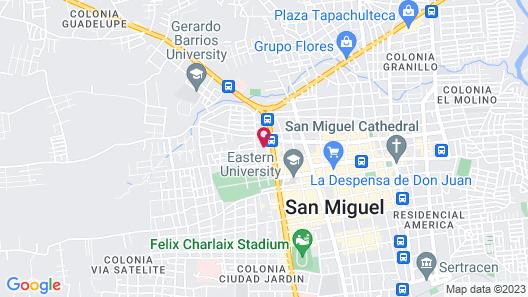 Hotel Villa San Miguel Map