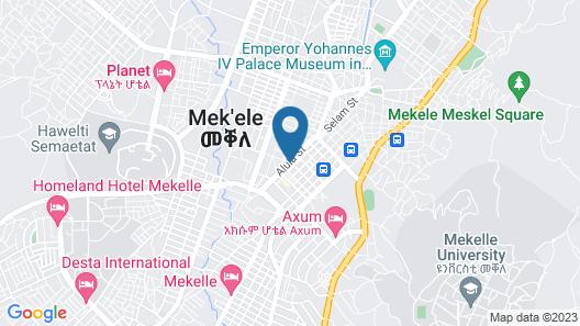 Desta International Hotel Map