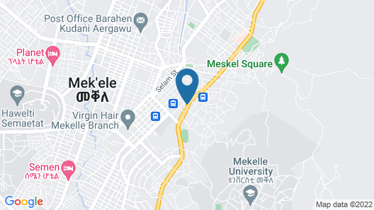 Moringa Hotel Map