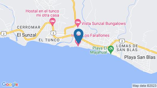 Hotel Los Farallones Map