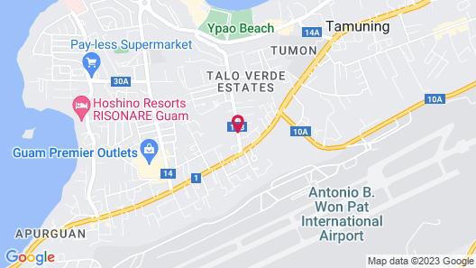 Days Inn Guam-Tamuning Map