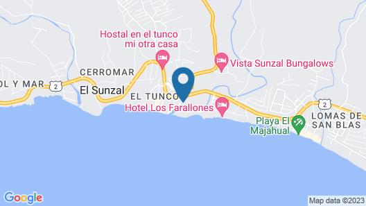 Boca Olas Resort Villas Map