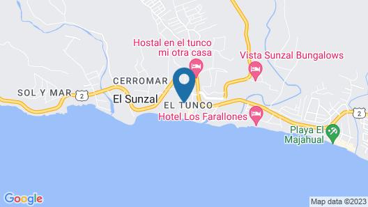 Hotel Tunco Lodge - Hostel Map