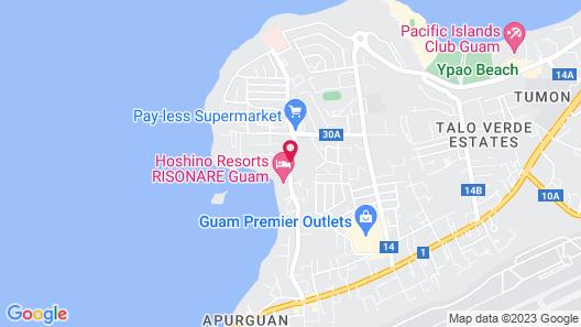 Onward Beach Resort Map