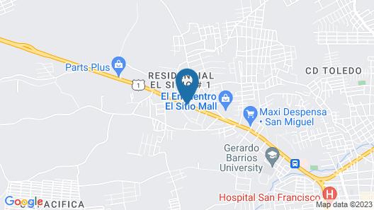 Hotel Florencia San Miguel Map