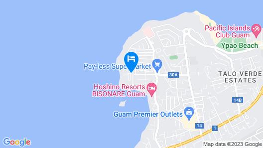 Sheraton Laguna Guam Resort Map