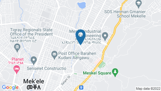 Romanat Hotel Map