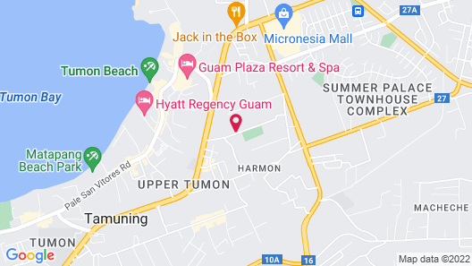 Tumon Bel-Air Serviced Residence Map