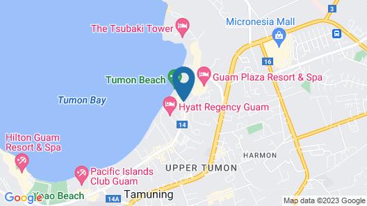 Dusit Thani Guam Resort Map
