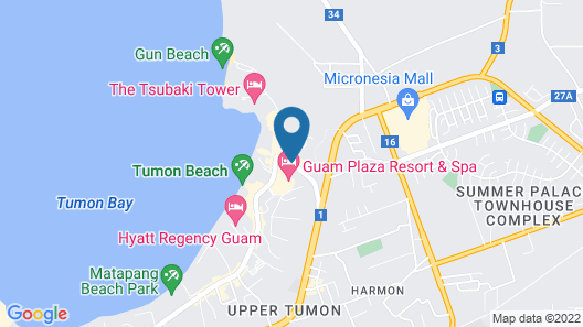 Oceanview Hotel & Residences Map