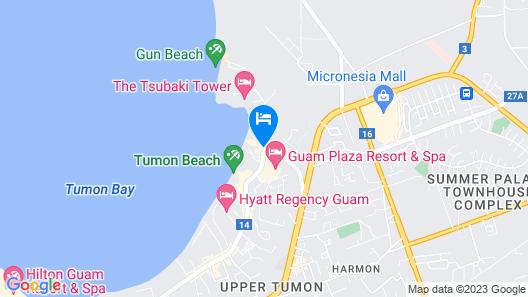 The Westin Resort Guam Map