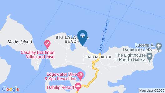 Blue Lagoon Dive Resort Map
