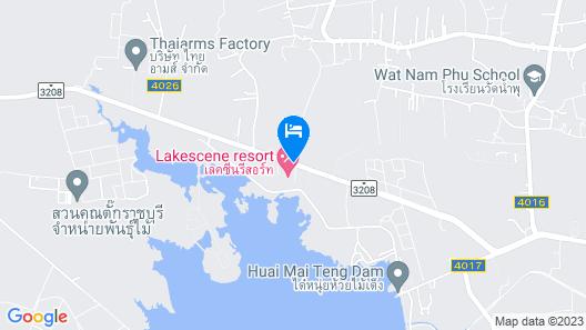 Lake Scene Resort Map